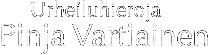 Urheiluhieroja Pinja Vartiainen